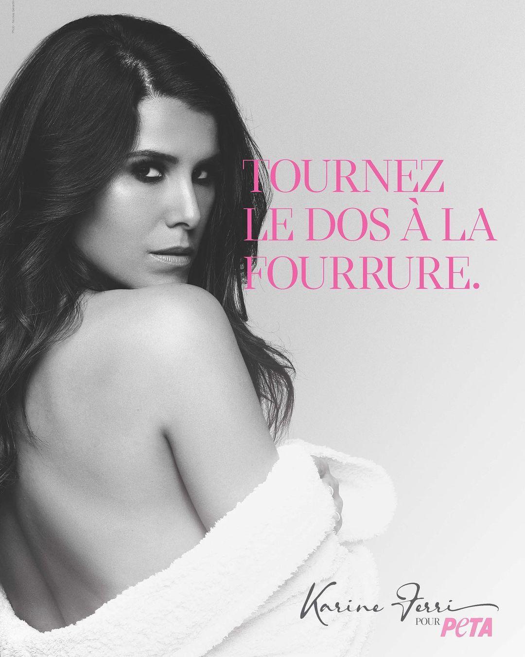 "Karine Ferri ""canon"" et ""magnifique"" : Ce cliché qui fait craquer les internautes"
