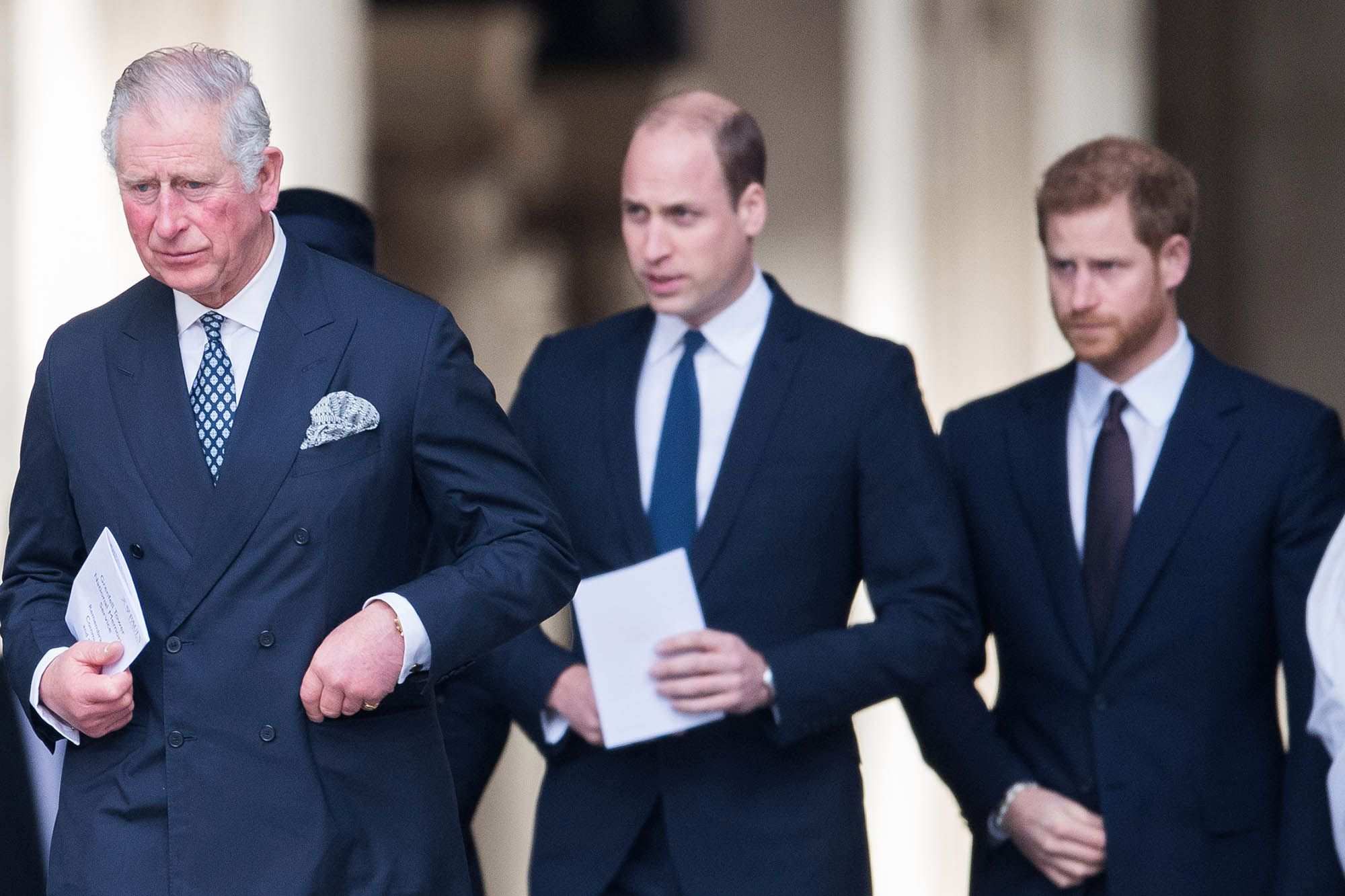 Le prince Charles, le prince William, le prince Harry @Samir Hussein/WireImage