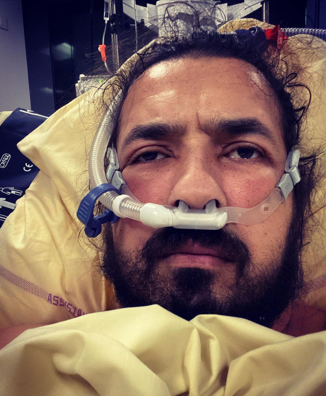 Moundir hospitalisé après avoir été touché par le Covid-19 @Instagram