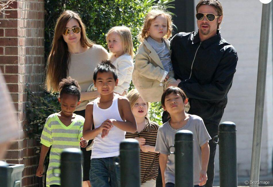 Brad Pitt : il obtient la garde partagée de ses 6 enfants