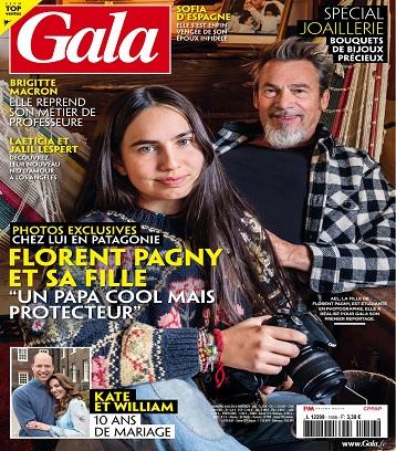 Florent Pagny : Sa fille sort de l'anonymat et pose avec son célèbre papa