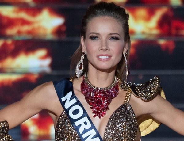 Miss Univers : Amandine Petit défile dans une tenue ultra sexy et envoûte le public