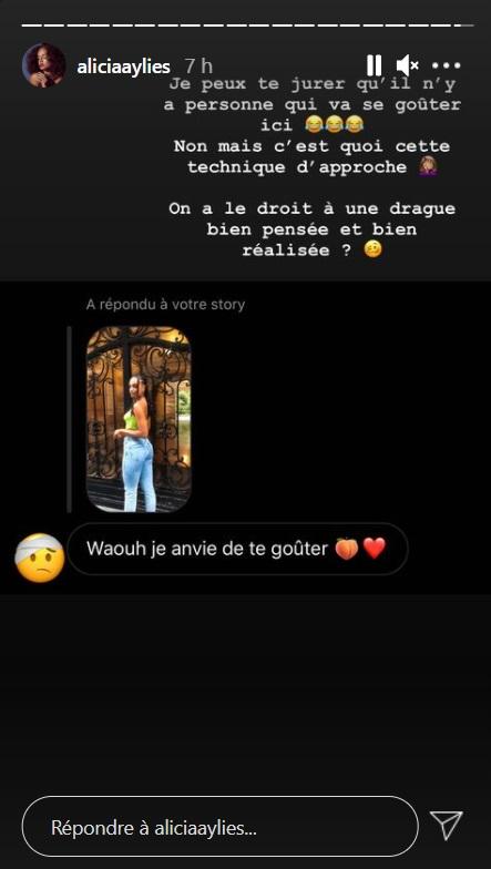 """Alicia Aylies (Miss France) en colère : """"Non mais c'est quoi cette technique d'approche ?"""""""