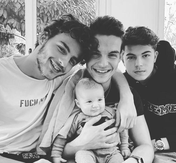 Benjamin Castaldi : Son fils Enzo se lance dans la musique !