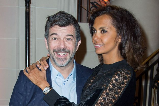 Stéphane Plaza et Karine Le Marchand