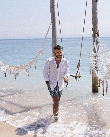 """Vincent Queijo et sa """"belle vie"""" à Bali : Toutes les photos"""