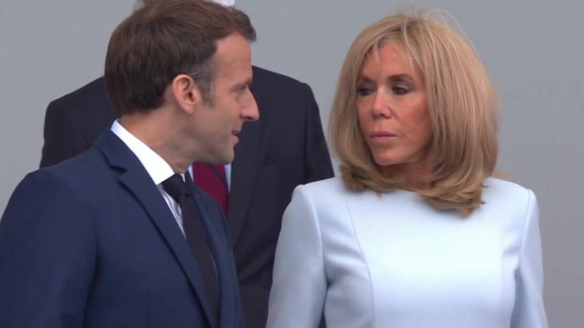 Brigitte Macron : Les Français choqués par son geste durant le défilé du 14 juillet