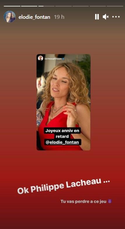 Elodie Fontaine: Philippe Lachaux se burla de su novia ... ¡Se venga y es muy divertido!