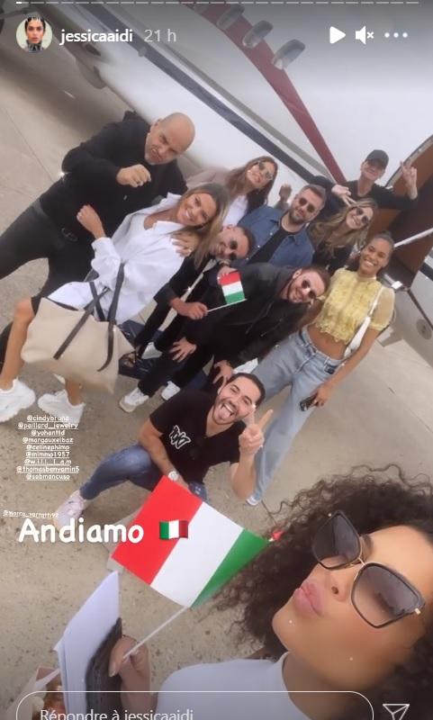 Euro 2020 : Jessica Aida aux premières loges pour soutenir son chéri Marco Verratti