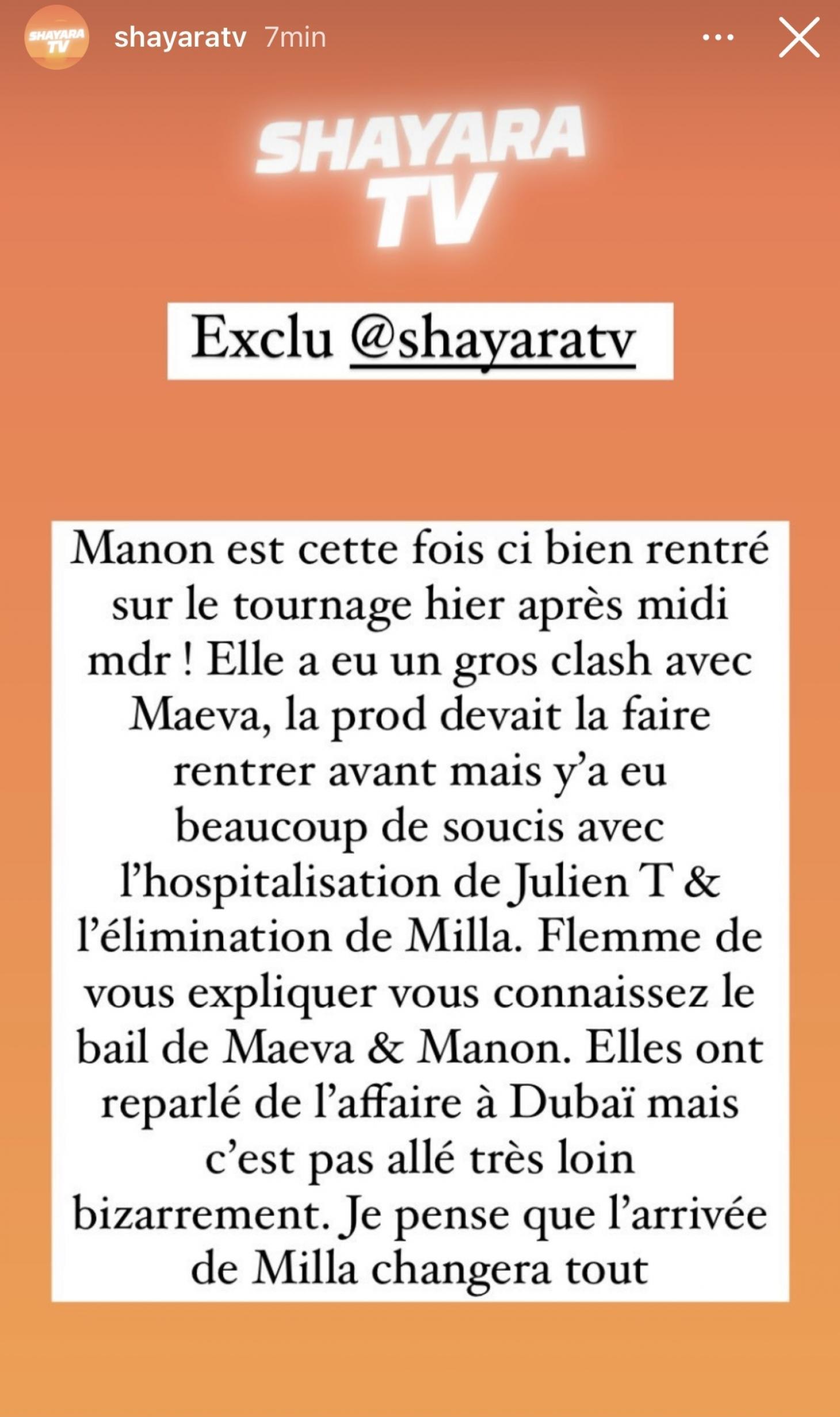 LMvsMonde6 : Manon Marsault intègre la villa et se confronte enfin à Maeva Ghennam !