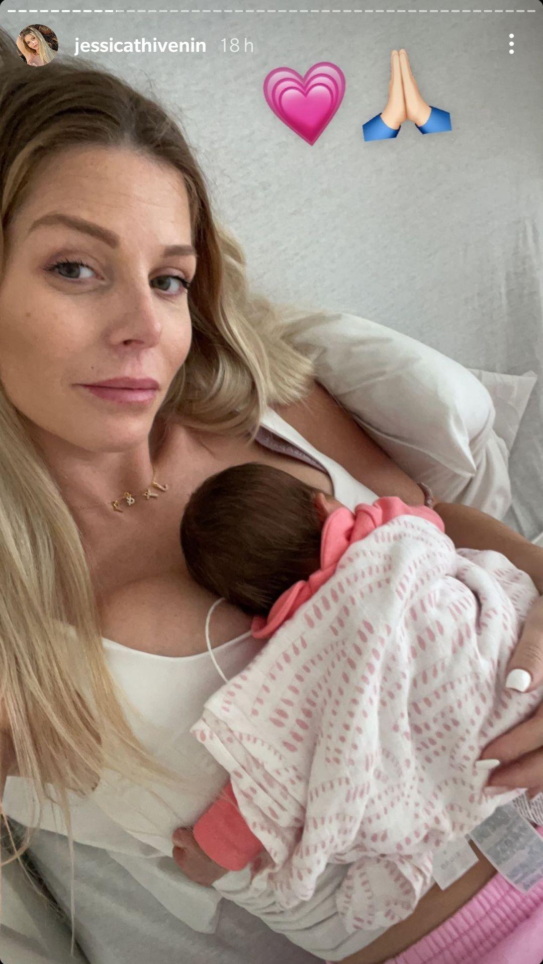 """Jessica Thivenin voit sa fille Leewane retourner en néonat : """"Je ne fais que pleurer..."""""""