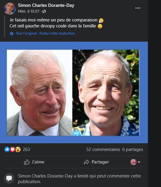 Prince Charles et Camilia: leur prétendu fils caché dévoile une nouvelle preuve accablante de leur lien de parenté