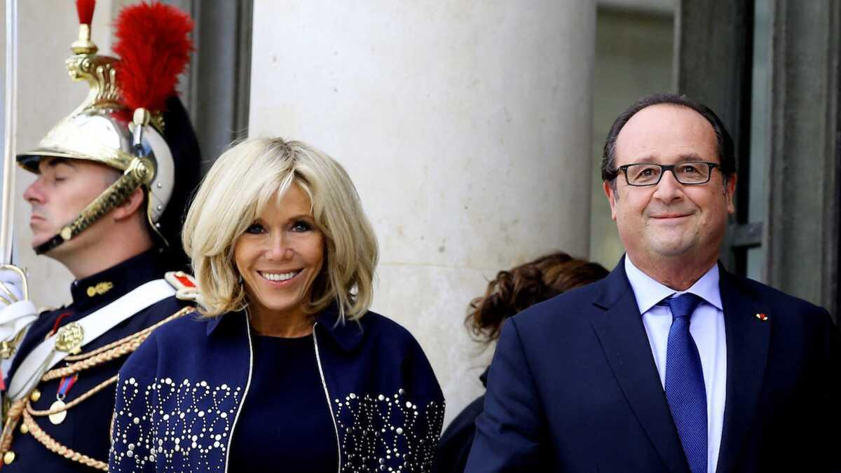 "Brigitte Macron ""furieuse"" : Ce geste qui a choqué François Hollande"