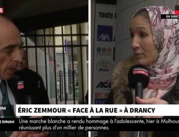 Eric Zemmour échange avec une musulmane qui retire son voile : Serait-ce une mise en scène ?