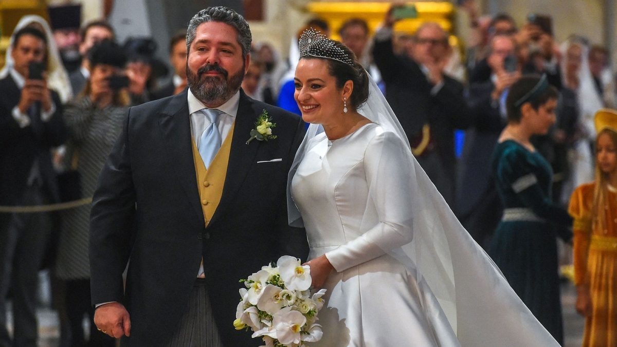 Russie : Le grand-duc George Mikhailovich s'est marié à Rebecca Victoria Bettarini