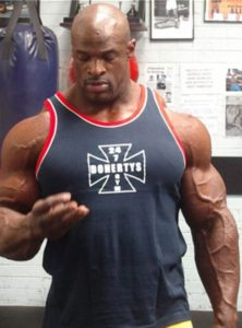 Ronnie Coleman Height, Weight, Body stats, Wiki