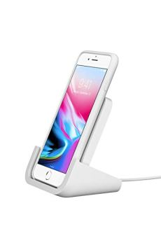 Amazon.com: Logitech Powered Wireless Charging Stand for iPhone 8, 8 Plus, X, XS, XS Max and XR: Cell Phones & Accessories