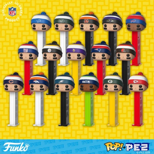 new NFL Pop Pez