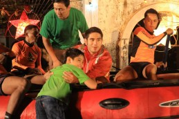 Gerald Anderson with the Phil Coast Guards (3)