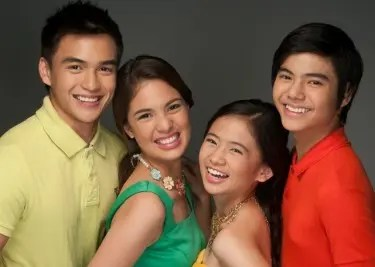 Aryana teen stars Dominic Roque, Michelle Vito, Ella Cruz, and Paul Salas
