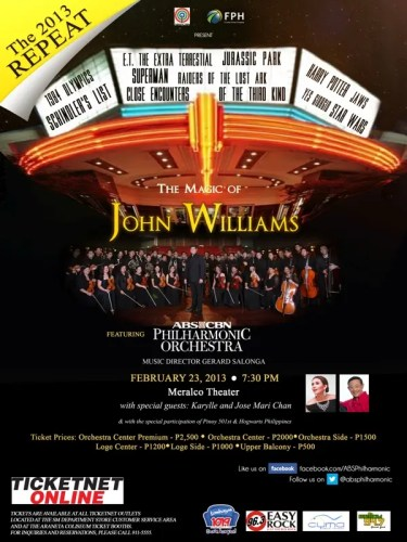 The Magic of John Williams Poster