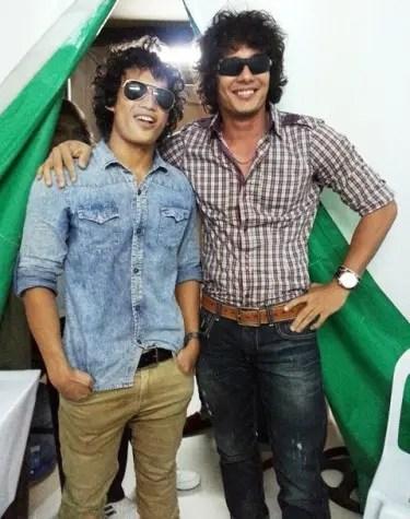 Ejay Falcon with his 'Kaloka-like' fan during DUGONG BUHAY mall show in Robinsons Dasmarinas Cavite