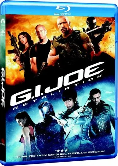 GI Joe BluRay
