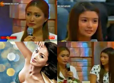 Phoemela Baranda, 33, introduced to the public for the first time her 14 year-old Kim.