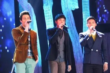 Enrique Gil, Daniel Padilla and Enchong Dee