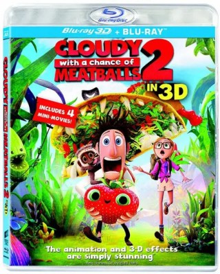Cloudy With a Chance of Meatballs 2 Blu-Ray 3D