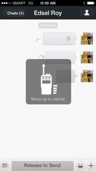WeChat Audio Message