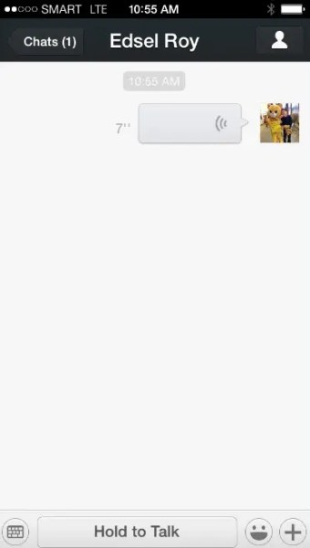 WeChat Audio Recording