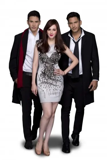 Lucy Torres Gomez with Semerad twins