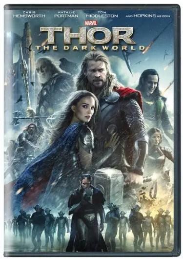 Thor Dark World DVD
