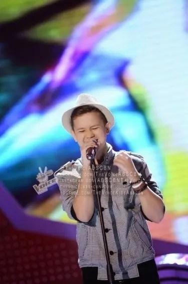Juan Karlos Labajo Sway The Voice Kids Semi-Finals