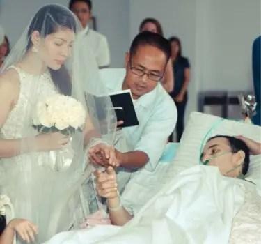 Wedding Video Cancer Patient
