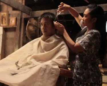Scene from Barbers Tales
