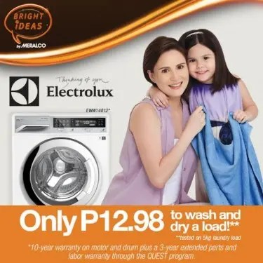 Meralco and Electrolux