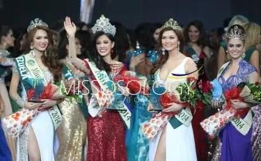 Miss Earth 2014 winners