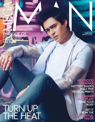 Enrique Gil Mega Man March 2014
