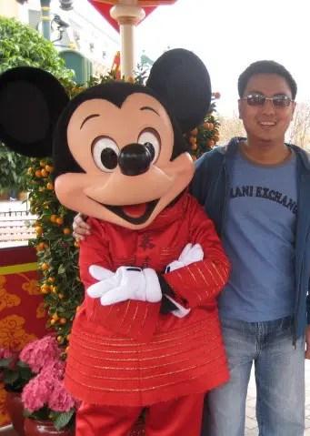 Edsel and Mickey