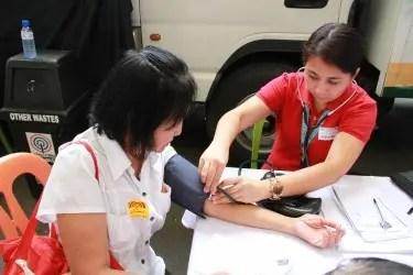 Kapamilya sumasailalim sa medical check up