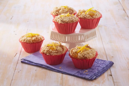 Mango Pineapple Cupcake using CO Mango Pineapple Jam