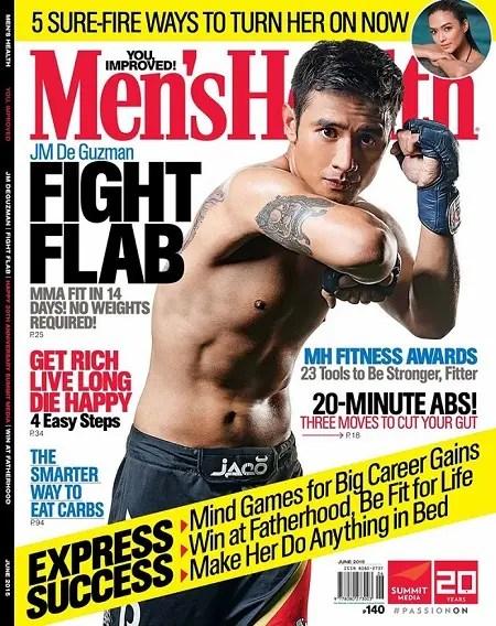 JM De Guzman - Men's Health PH June 2015