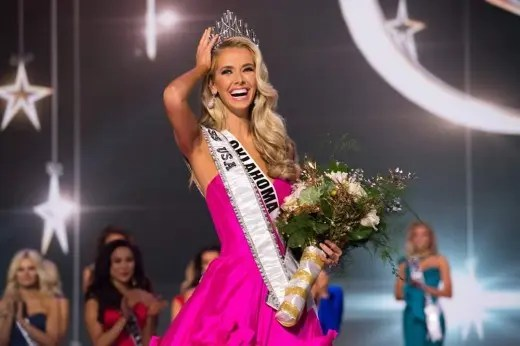 Olivia Jordan of Oklahoma is USA's representative to the 2015 Miss Universe pageant. Photo Credit:  Miss USA