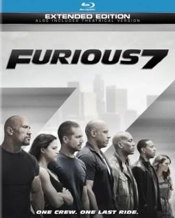 Furious 7 DVD