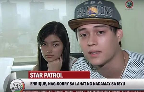 Enrique Says Sorry