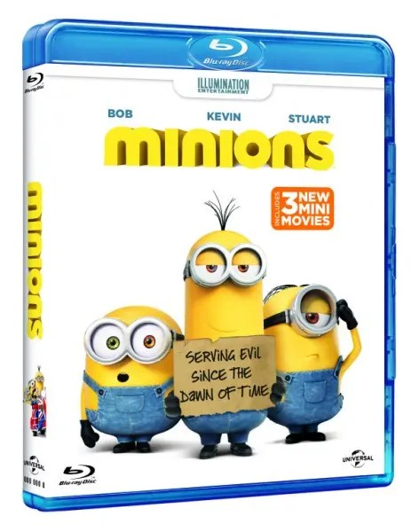 Minions BluRay