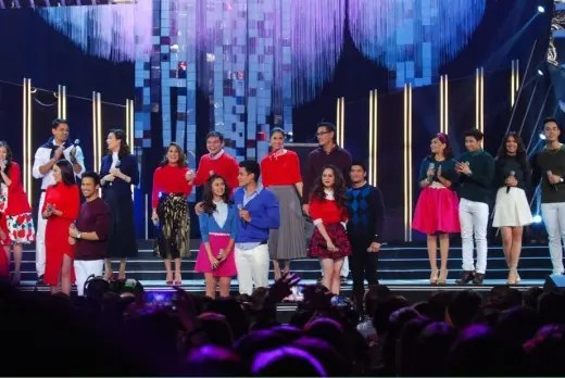 Kapamilya love teams open the Kapamilya, Thank You For The Love The ABS-CBN Christmas Special