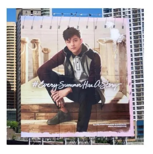 Daniel Padilla Bench Summer